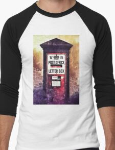 Victorian Pillar Box Men's Baseball ¾ T-Shirt