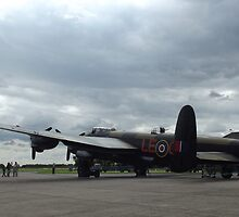 Avro Lancaster 'Just Jane' by PathfinderMedia
