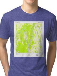 USGS TOPO Map Alaska AK Fairbanks B-5 355566 1949 63360 Tri-blend T-Shirt