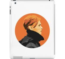 """Low"" Bowie Circle Design iPad Case/Skin"