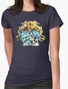 Bumblebee Portrait Womens Fitted T-Shirt