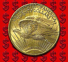 USA Gold $20 Coin by Kawka