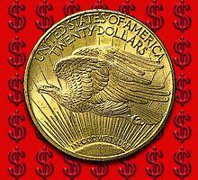 USA Gold $20 Coin by Kawka