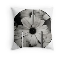 MSFTS + FLWRS Throw Pillow