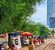 Cambodian Railways Revisited. Sticker
