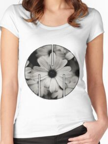 MSFTS + FLWRS Women's Fitted Scoop T-Shirt