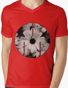 MSFTS + FLWRS Mens V-Neck T-Shirt