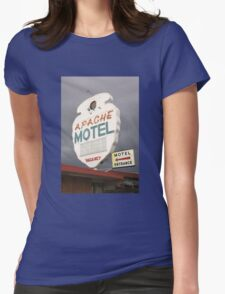 Apache Motel Womens Fitted T-Shirt