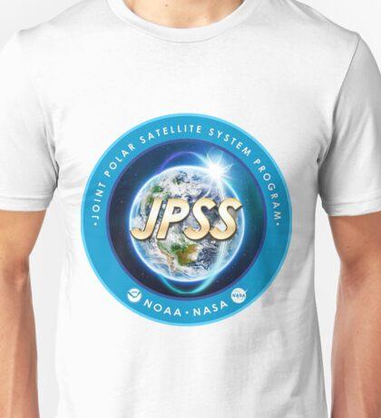 Joint Polar Satellite System (JPSS) Program Logo Unisex T-Shirt