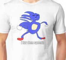 meme sanic gotta go fast Unisex T-Shirt