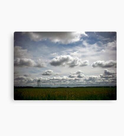 Blur of the Road Canvas Print