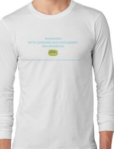 Delusion - turquoise Long Sleeve T-Shirt