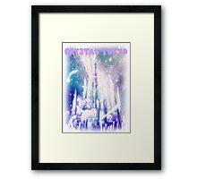 Crystal Tokyo Framed Print