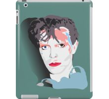 """""""Scary Monsters"""" Bowie Green Design iPad Case/Skin"""