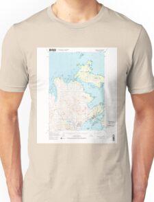 USGS TOPO Map Alaska AK Kodiak D-2 356834 1949 63360 T-Shirt