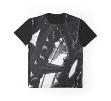 Black Wheel Graphic T-Shirt