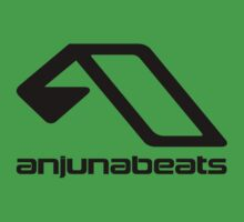 Music-Anjunabeats black One Piece - Short Sleeve