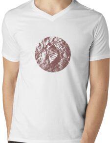 MOON PRINT  apollo 11 Mens V-Neck T-Shirt