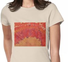 Desert Arch original painting Womens Fitted T-Shirt
