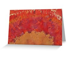 Desert Arch original painting Greeting Card