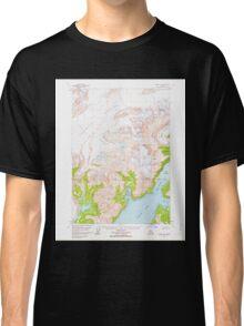 USGS TOPO Map Alaska AK Valdez A-8 360303 1960 63360 Classic T-Shirt