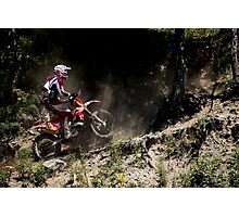 Red Bull Romaniacs enduro race Photographic Print