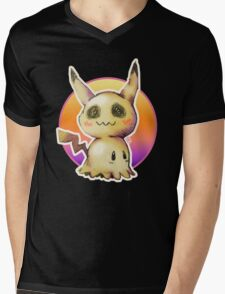 Mimikkyu (Pokémon) Mens V-Neck T-Shirt