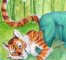 Emerald- Tigress by keedot