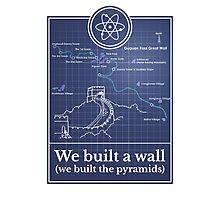 Big Bang Theory - We built a wall Photographic Print