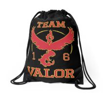 Team Valor Pokemon Go Drawstring Bag