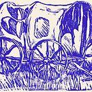 Abandoned Wagon by Brendan Coyle