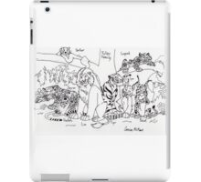 Feline Family Tree iPad Case/Skin