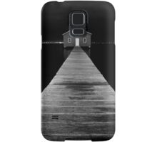 Boat Shed at Night Samsung Galaxy Case/Skin