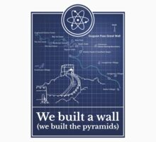 Big Bang Theory - We built a wall One Piece - Short Sleeve
