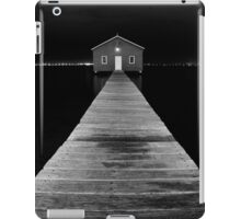 Boat Shed at Night iPad Case/Skin