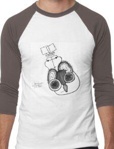 What Do You Listen To? Men's Baseball ¾ T-Shirt