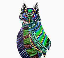 Dynamic Owl Unisex T-Shirt