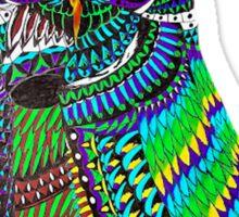 Dynamic Owl Sticker