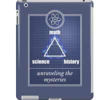 Big Bang Theory - Math, science, history, unraveling the mystery, iPad Case/Skin