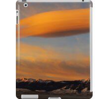 Sunrise On Lenticular Clouds iPad Case/Skin
