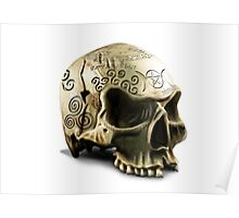 Witchcraft Skull Poster