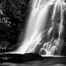Palfau Waterfall bw by Delfino
