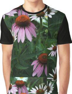 Purple Coneflowers Graphic T-Shirt