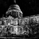 St. Paul's Cathedral, London, at Night by Graham Prentice