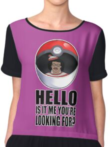Pokemon go , is it me you're looking for? Chiffon Top