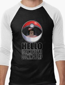 Pokemon go , is it me you're looking for? Men's Baseball ¾ T-Shirt