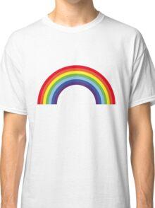 Rainbow / Arc-En-Ciel / Arcoíris / Regenbogen (7 Colors) Classic T-Shirt