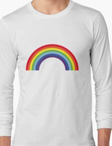 Rainbow / Arc-En-Ciel / Arcoíris / Regenbogen (7 Colors) Long Sleeve T-Shirt