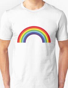 Rainbow / Arc-En-Ciel / Arcoíris / Regenbogen (7 Colors) Unisex T-Shirt
