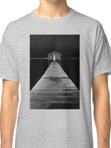 Boat Shed at Night Classic T-Shirt